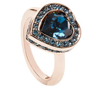 Heart Stone Pave Ring