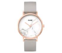 La Roche Rose gold White Marble Uhr CL40005