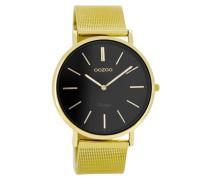 Vintage Gold/Schwarz Uhr C8164