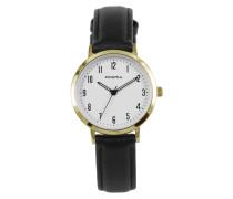 Gold Slimline Damen Uhr P1498