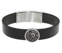 Mens Leather Logo Armband DX0886040