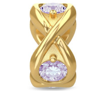 Lavender Infinity Ocean Gold Charm 51351-1