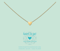 Heart For Initials Symbol Heart Gold Charm S174HEA13G