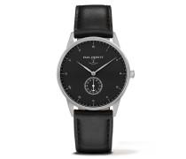 Signature Line Silver/Black Sea Leather Classic Uhr PH-M1-S-B-2S
