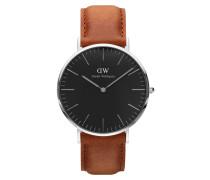 Classic Black Durham Uhr DW00100132 ( mm)