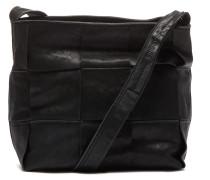 Smooth Leather Medium Off Black Crossbody 262020018