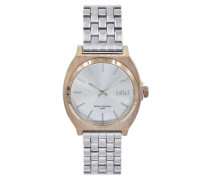 London Silver/Rose gold Uhr LD-02