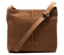 Trend Medium Waxed Grain Leather Caramel Umhängetasche 2620200093004-M