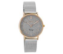 Vintage Silber Uhr C8838