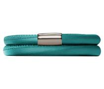 Green Bayou Leather Armband 12118-40