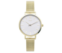 Farah Gold/Weiß Uhr FH-05