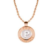 Iniziali Rose gold/Silver Armband 1806.004.003.P