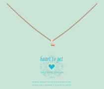 Heart For Initials Letter L Rose Charm L153INL13R