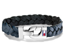 Thick Braided Leather Armband TJ2700873