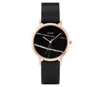 La Roche Petite Rose Gold Black Marble Uhr CL40104