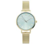 Farah Gold/Blau Uhr FH-08