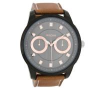 Timepieces Braun/Schwarz Uhr C8208 ( mm)