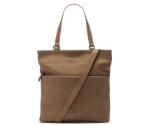 Buffed Leather Ecru Schultertasche 2820100014022-M