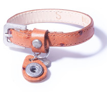 Petite Dot Print Cognac Armband WPCS-9078-88-S (Größe S)