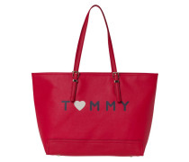 Honey Ew Tote Fiery Red/Love Tommy Handtasche AW0AW03929908