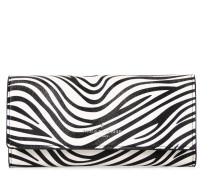 Sloane Black Druckknopf Brieftasche PWN126724