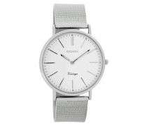 Vintage Uhr Silber C7395