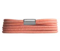 Leather Peach Armband 12220-40