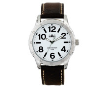 Ray Dark Brown/White/Silver Uhr RY-05