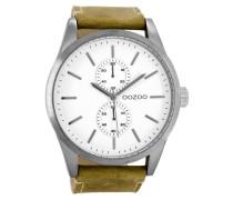 Timepieces Braun/Weiß Uhr C8510