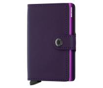Miniwallet Matte Purple Portemonnaie S-MM-Purple