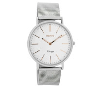 Vintage Uhr Silber/Rosegold C7396