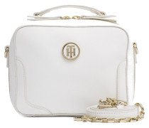 Miss Tommy Micro Trunk White Umhängetasche AW0AW03675102