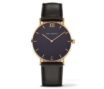 Sailor Line Gold/Blue Lagoon Leather Classic Uhr PH-SA-G-ST-B-2S