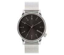 Winston Royale Silver/Black Uhr KOM-W2357
