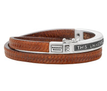Charity Collection Universe Leather Brown Armband 822BR-21