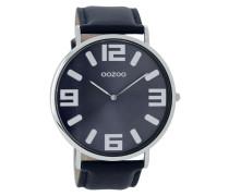 Vintage Blau Uhr C8853