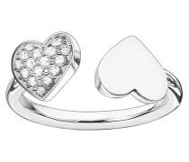 Sterling Silver Ring TR2082-051-14-