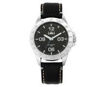 Marshall Black/Silver Uhr MA-09