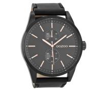 Timepieces Schwarz/Schwarz Uhr C8514