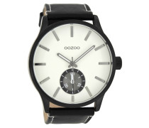 Timepieces Schwarz/Weiß Uhr C8213 ( mm)