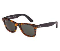 Wayfarer Sonnenbrille Spotted Black Havana RB2140 1157