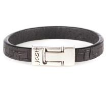 Herren Armband Black 24537-BRA-BLACK-L (22.30 cm)