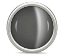 Big Grey Love Dome Silver Charm 41365-2