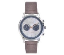 Marlon Brown/Silver Uhr MO-07