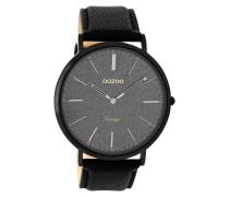 Vintage Schwarz Uhr C8809 ( mm)