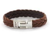 Armband Herren Cognac 24001-BRA-COG (22.70 cm)