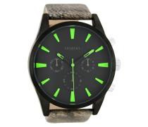 Timepieces Schwarz/Grün Uhr C8202 ( mm)