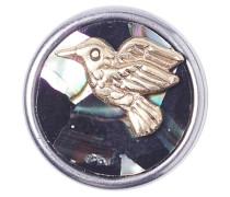 Petite Peafowl Blue/Gold Chunk CPRN-9025-05 (Alleen geschikt voor Petite serie)