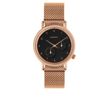 Crafted Walther Rose Gold Mesh Uhr KOM-W22