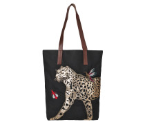 Leo Canvas Black Shopper 1707400003-10